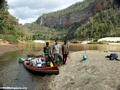 Manambolo river trip team (Manambolo)