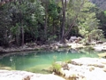 Clear pool on Oly creek (Manambolo)