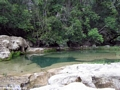 Limestone pool on Oly creek (Manambolo)