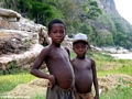 Sakalava boys long the Manambolo River (Manambolo)