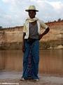 Sakalava boy along Manambolo River (Manambolo)