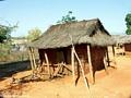Tsianaloka village hut (Manambolo)