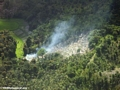 Agricultural fires set in humid forests of Madagascar (Maroantsetra to Tamatave)