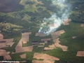 Agricultural fires in wet forests of Madagascar (Maroantsetra to Tamatave)