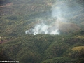 Agricultural fires in tropical forests of Madagascar (Maroantsetra to Tamatave)
