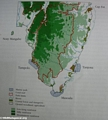 Map of Masoala NP vegetation (Maroantsetra)