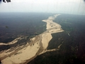 Aerial view of deforestation in western Madagascar (Tulear) [moron_tulear188]