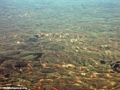 Aerial view of Malagasy deforestation (Airplane flight from Anatananarivo to Maroantsetra)
