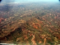 Deforestation in Madagascar (bird's-eye view) (Airplane flight from Anatananarivo to Maroantsetra)