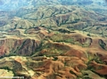 Aerial view of erosion in Madagascar (Flight from Tana West)