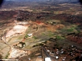 Airplane view of erosion in Madagascar (Flight from Tana West)