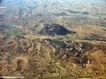 Deforestation aerial view (Flight from Tana West)