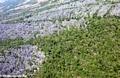 Aerial view of Tsingy (Tsingy de Bemaraha)