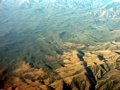 Aerial view of dry forest (Fort Dauphin - Tana Flight) [ftdaph-tana_flight0033]