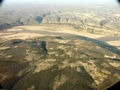 Aerial view of dry forest (Fort Dauphin - Tana Flight)